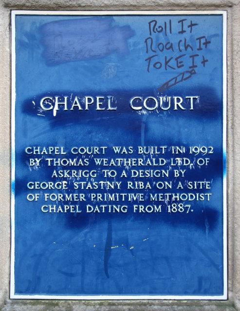 Chapel Court Drug Culture