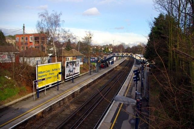 Bexleyheath station