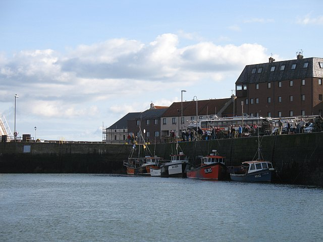 The harbour, Dunbar