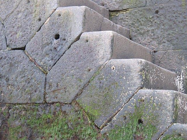 Detail of steps, Dunbar Harbour