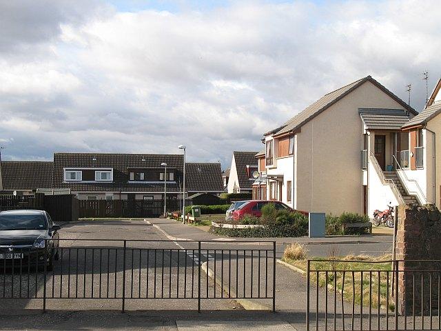 Housing estate off Spott Road