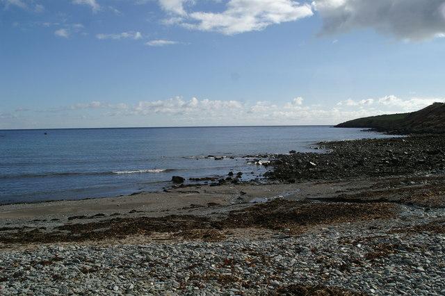 Port Mooar, western shore