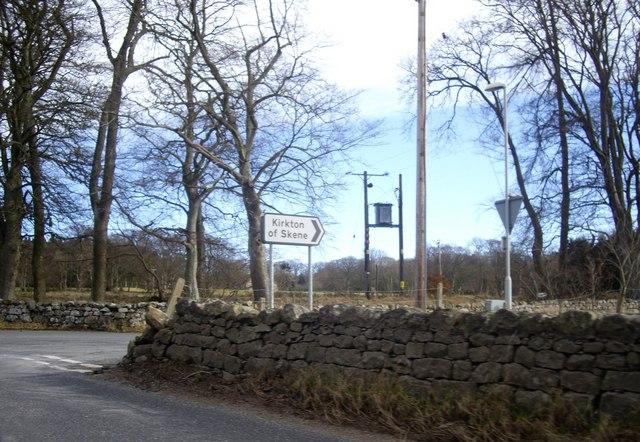 Kirkton of Skene junction