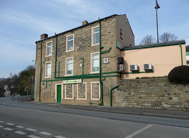 Vet on the corner, Sowerby Bridge