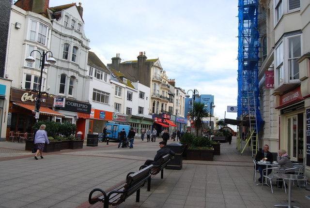Wellington Place, Hastings