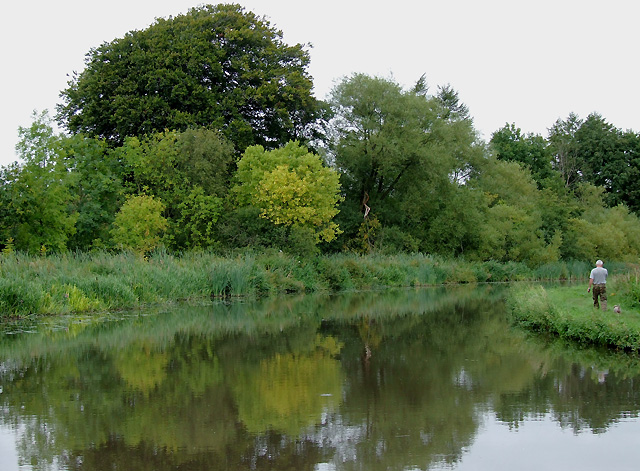 Staffordshire and Worcestershire Canal, Tixall, Staffordshire