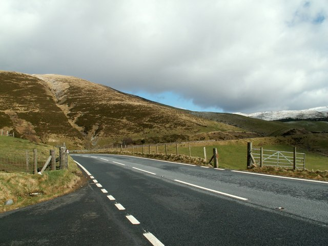 The A44 Looking To Foel Wyddon