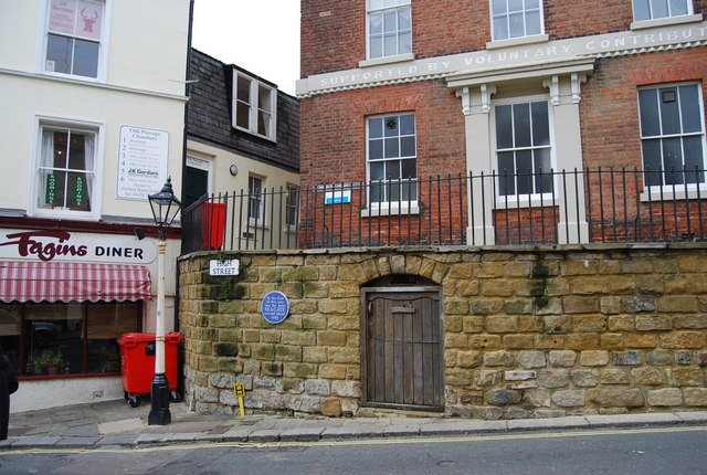 Site of the Old Seagate, High St