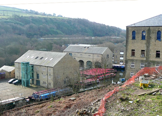 Converted warehouse, Sowerby Bridge