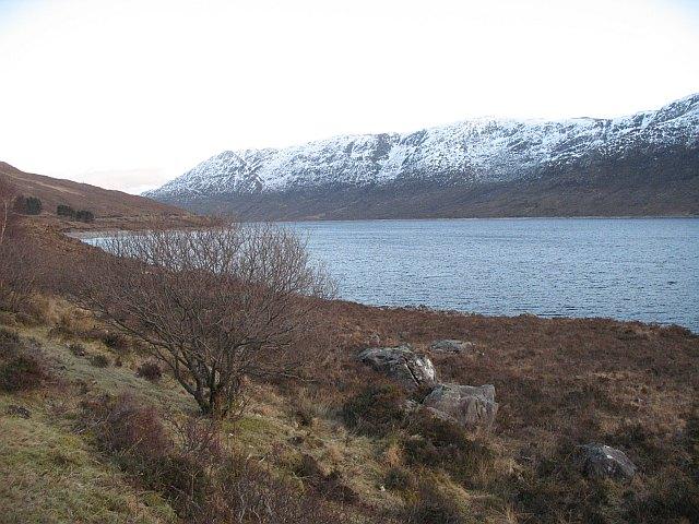 Shores of Loch Cluanie