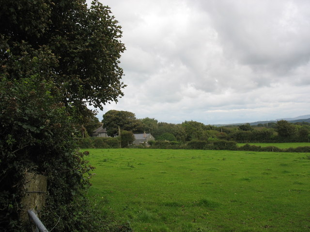 Farmland at Pen-y-graig