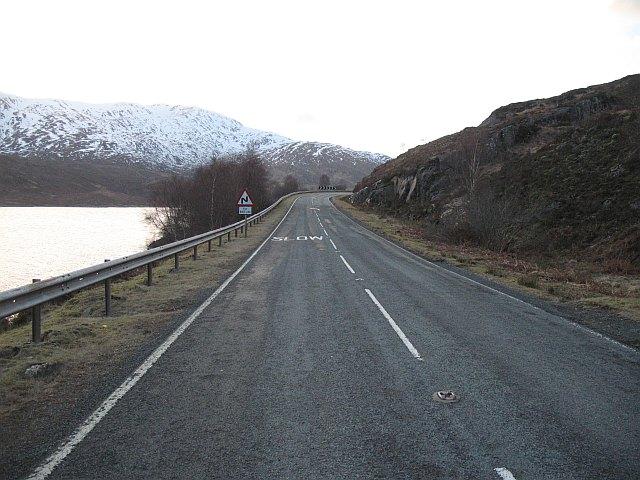 A87 Loch Cluanie