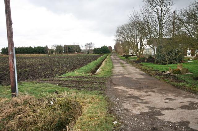Bridleway Through Townsdales
