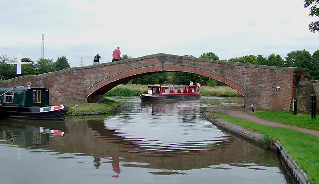 Great Haywood Canal Junction, Staffordshire