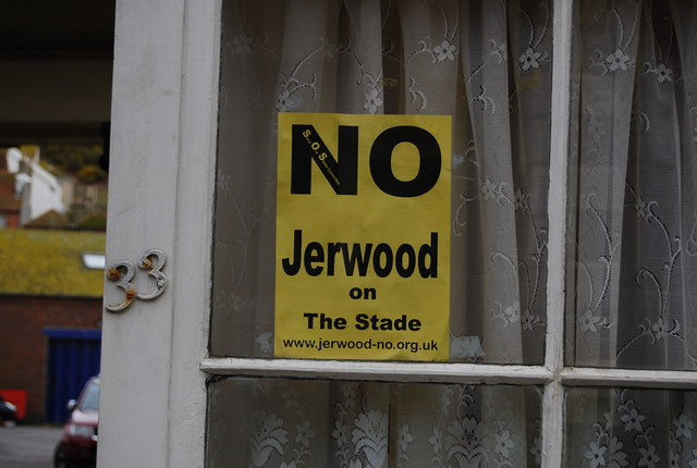 No Jerwood on The Stade