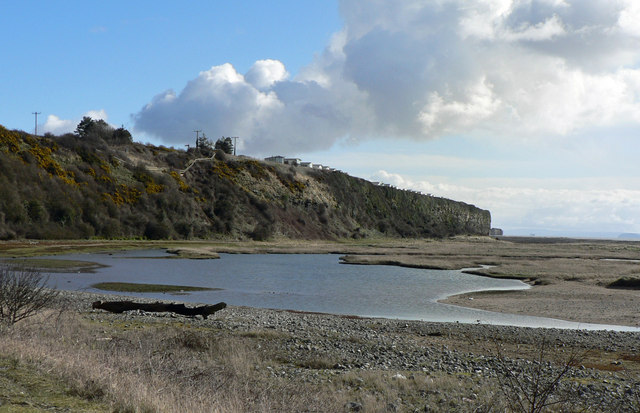 Lagoon , Leys Beach, Aberthaw
