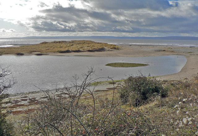 Lagoon and Dune, Leys Beach, Aberthaw.