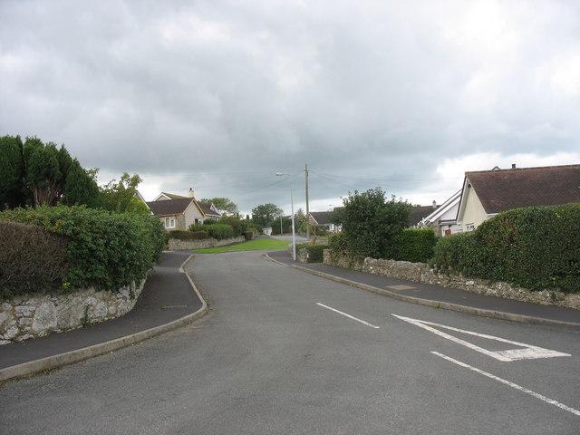 Bungalows on the Maes Llydan estate