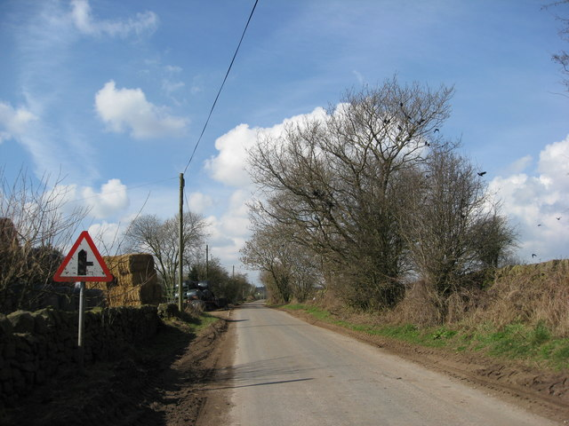 Approaching Windmill Lane (on the right)