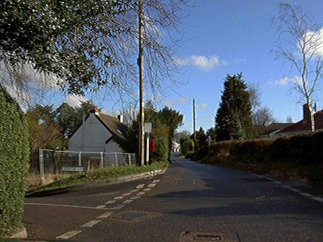 Postbox Bewsbury Cross Lane