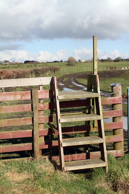 Stile near Chapelcross