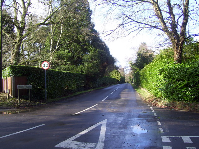 Birch Road - leading to Chilworth Road