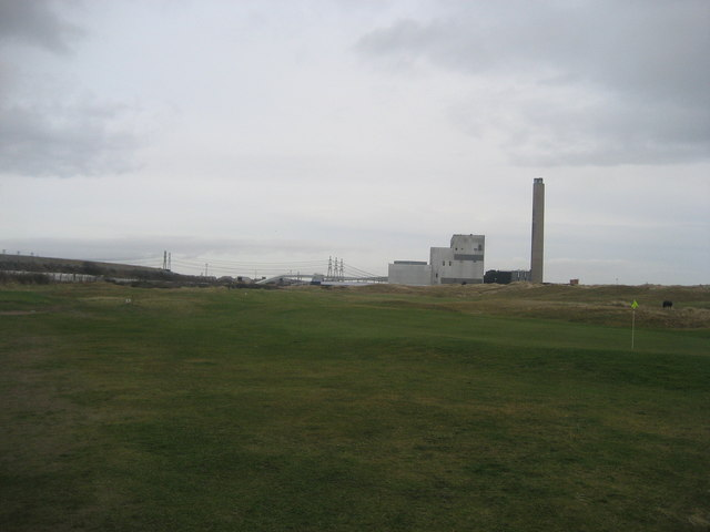 On Newbiggin Golf Course