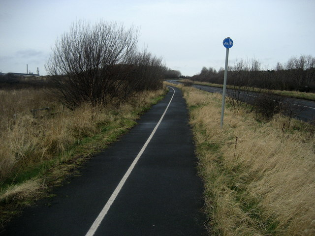 Cycle Path by Park Road