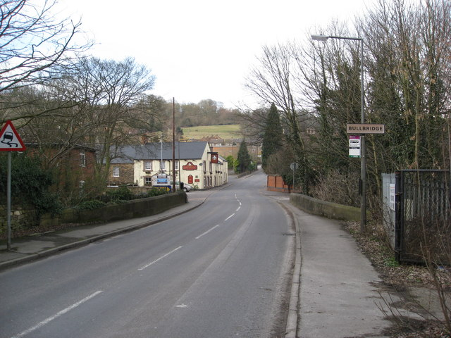 Bullbridge - Approaching The Lord Nelson and Bullbridge Hill
