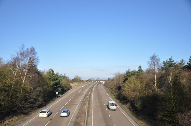 A120 looking West at Ardleigh