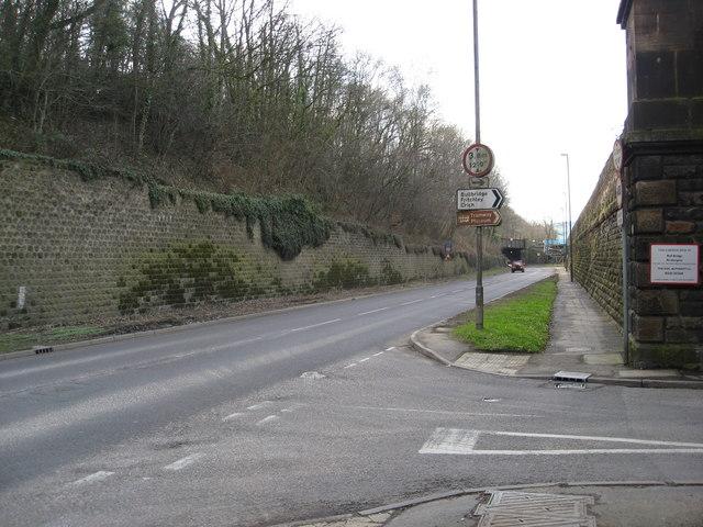 Bull  Bridge and the A610