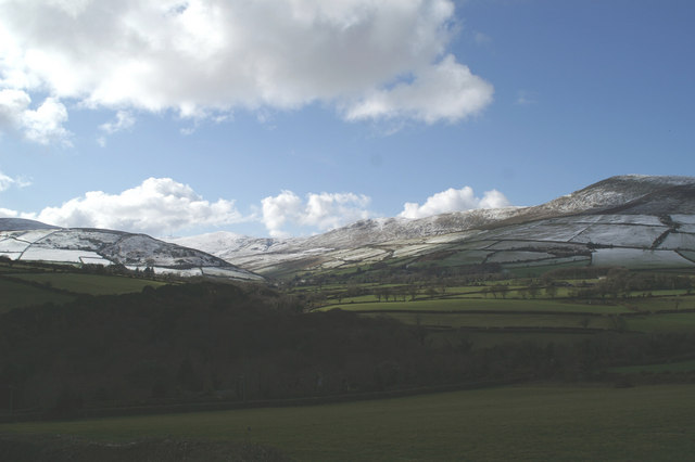 Ballaglass Glen from the A15 at Coorna