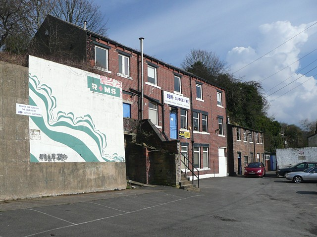 Warehouse off Lower Clifton Street, Sowerby Bridge