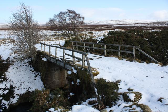 Bridge near Auchlochan