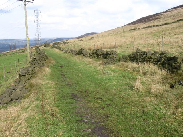 Footpath near Shaw Moor