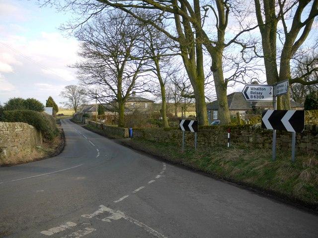 Road Junction, Black Heddon