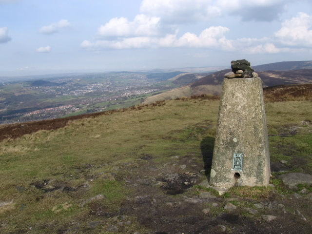 Wild Bank Hill Trig Point S2641