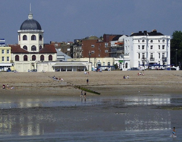 Worthing seafront from the pier