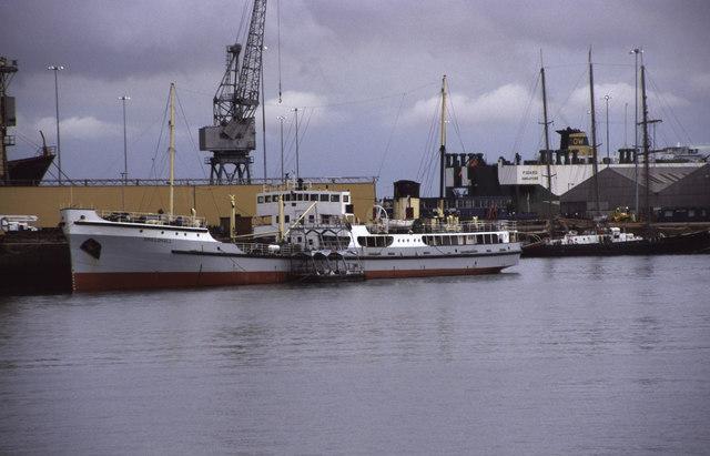 Steamship Shieldhall, Southampton