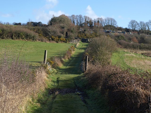 Bridleway across Churchtown Farm nature reserve