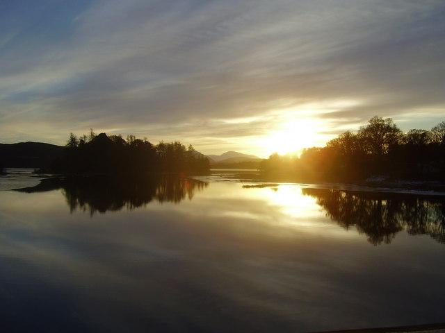 Evening Sun Loch Insh