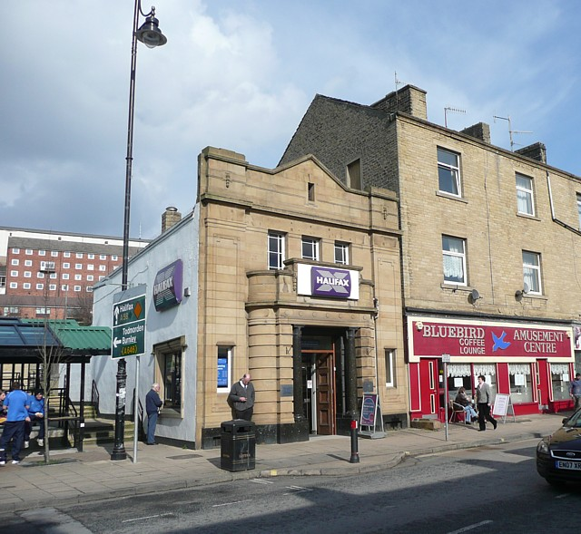 The Halifax Bank, Wharf Street, Sowerby Bridge