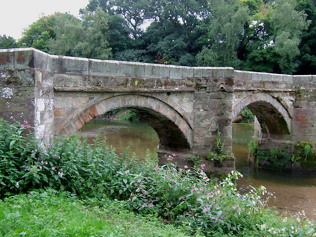 Essex Bridge (detail), Great Haywood, Staffordshire