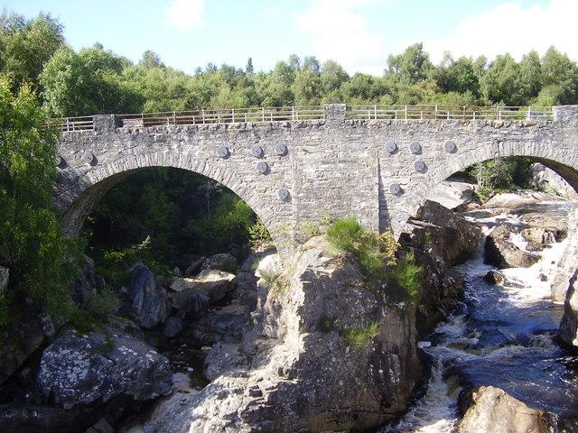 Bridge over the Black Water River