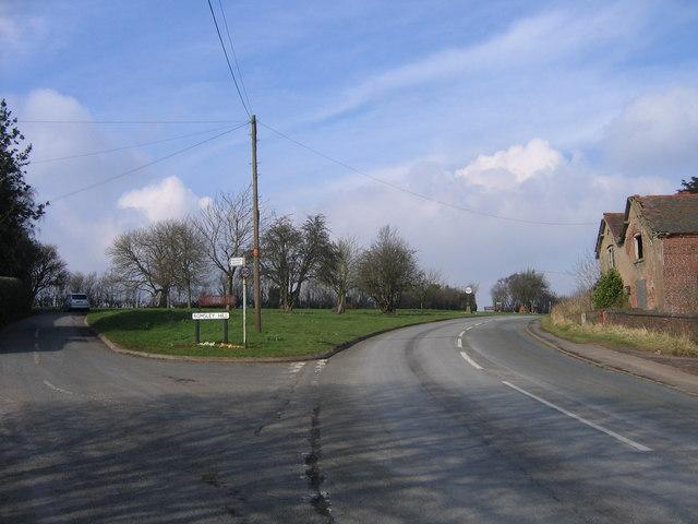 Romsley Hill/Farley Lane Junction