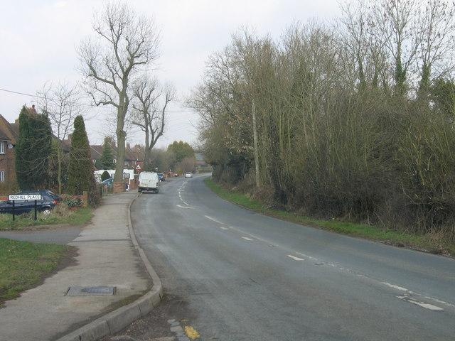 Hunnington, B4551 Looking Towards Halesowen