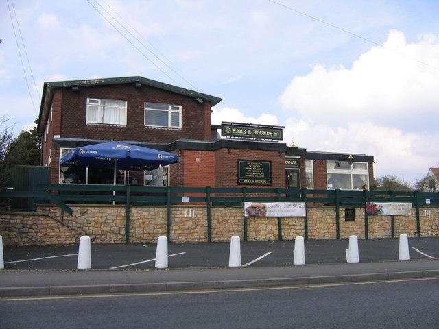Hare & Hounds Pub. Halesowen