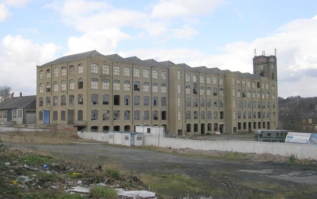 J T & J Taylor's Mill - viewed from Mayman Lane