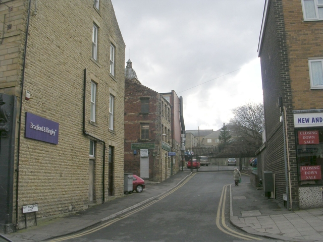 Back Providence Street - Upper Commercial Street