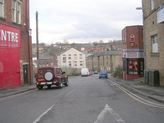 Well Lane - Commercial Street
